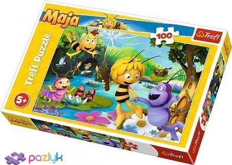 100 ел. - Бджілка Майя та друзі / Studio 100 Maya the Bee / Trefl