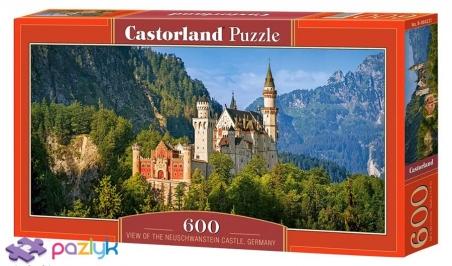 600 ел. - Замок Нойшванштайн, Німеччина / Castorland