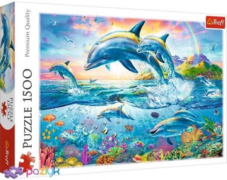 1500 ел. - Адріан Честерман. Родина дельфінів / MGL / Trefl