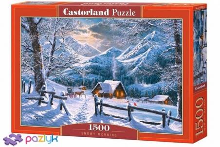 1500 ел. - Сніговий ранок / Castorland