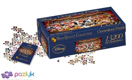 13200 ел. High Quality Collection - Оркестр Діснея / Disney / Clementoni