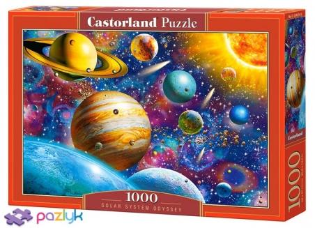 1000 ел. - Подорож Сонячною системою / Castorland