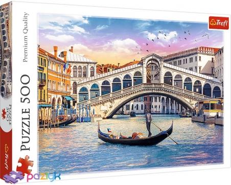 500 эл. - Мост Риальто, Венеция / Adobe Stock_L / Trefl