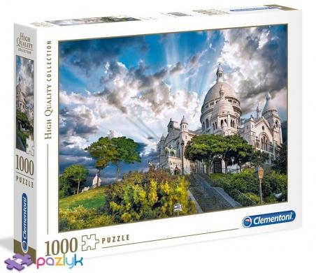 1000 эл. High Quality Collection - Базилика Сакре-Кер, Монмартр, Париж, Франция / Clementoni
