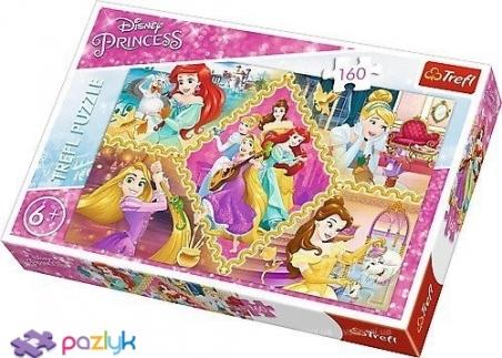 160 ел. - Пригоди Принцес. Колаж / Disney Princess / Trefl