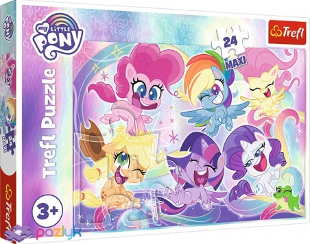 24 эл. Макси - Дружба маленьких Пони / Hasbro My Little Pony / Trefl