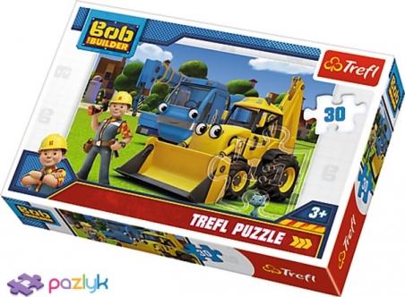 30 эл. - Боб строитель. Новый вызов / Bob the builder / Trefl