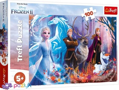 100 эл. - Холодное сердце-2. Магия ледяной земли / Disney Frozen 2 / Trefl