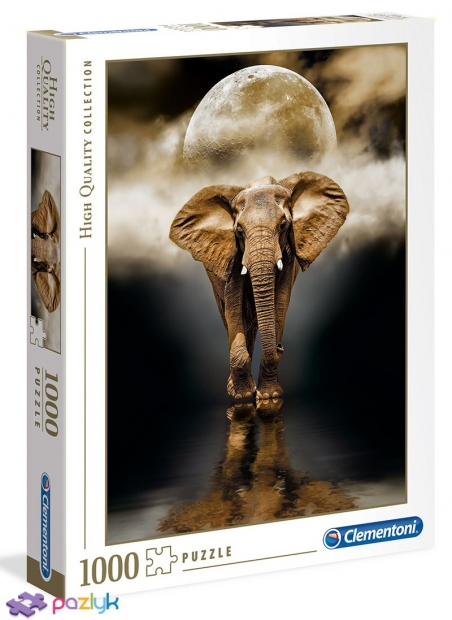 1000 ел. High Quality Collection - Слон / Clementoni