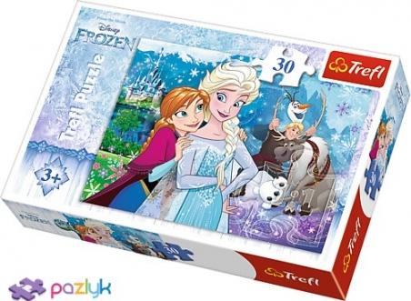 30 эл. - Холодное сердце. Преодолеть магию / Disney Frozen / Trefl