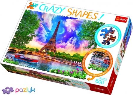 600 ел. Crazy Shapes - Небо над Парижем / 500px / Trefl