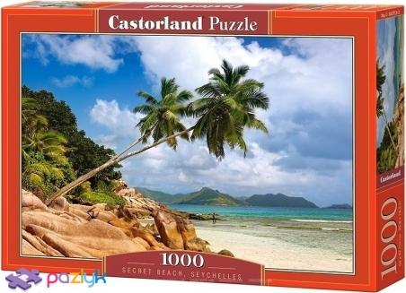 1000 эл. - Неизвестный пляж, Сейшелы / Castorland