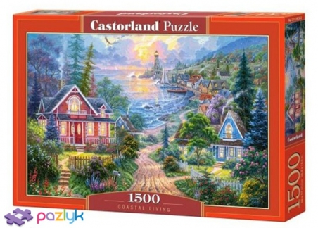 1500 ел. - Життя на узбережжі / Castorland