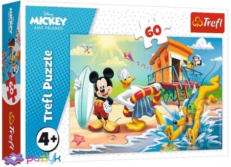 60 ел. - Цікавий день Мишки Міккі та друзів / Disney Standard Characters / Trefl