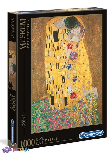 1000 эл. Музейная Коллекция - Густав Климт. Поцелуй / Clementoni