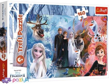 160 ел. - Крижане серце-2. Хочеться вірити у мрії / Disney Frozen 2 / Trefl