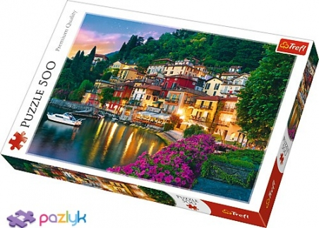 500 ел. - Узбережжя озера Комо, Італія / Trefl