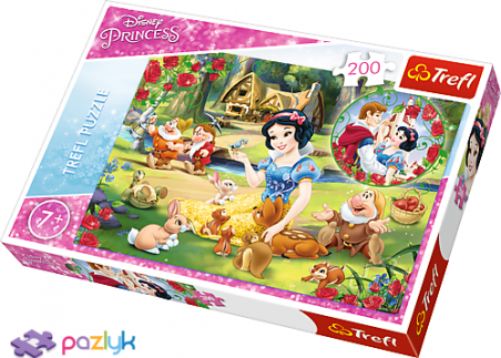 200 эл. - Белоснежка. Мечты о любви / Disney Princess / Trefl