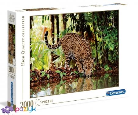 2000 ел. High Quality Collection - Леопард / Clementoni