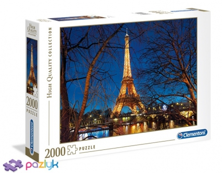 2000 ел. High Quality Collection - Париж. Вежа Ейфеля / Clementoni
