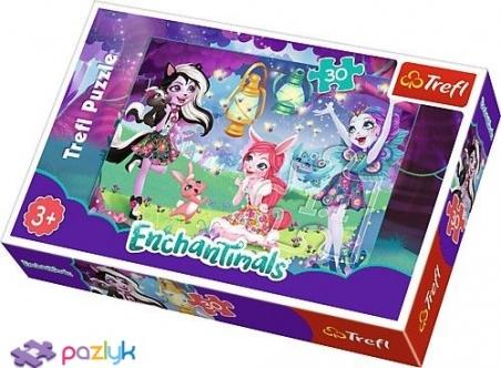 30 эл. - Энчантималс. Волшебный мир / Mattel Enchantimals / Trefl