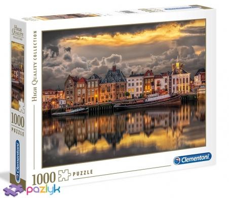 1000 эл. High Quality Collection - Нидерландские домики мечты / Clementoni
