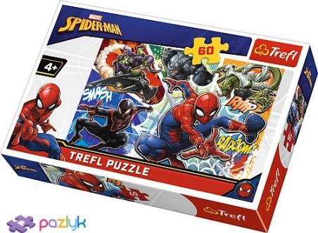 60 эл. - Отважный Спайдермен / Marvel Spiderman / Trefl