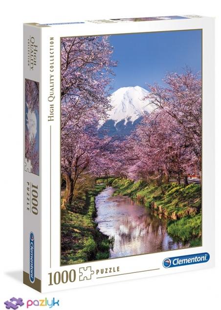 1000 эл. High Quality Collection - Подножие горы Фудзияма, Япония / Clementoni