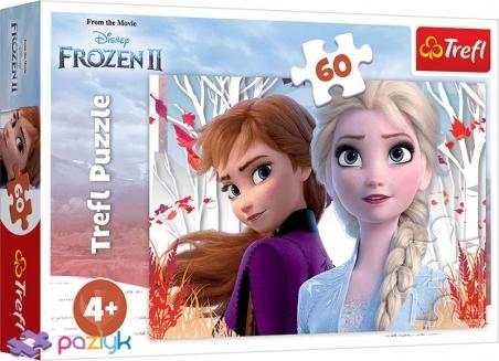 60 ел. - Крижане серце-2. Зачарований світ Анни і Ельзи / Disney Frozen 2 / Trefl