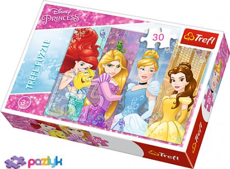30 ел. – Казкові Принцеси / Disney Princess / Trefl