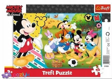 15 эл. Рамочные - Мышка Микки в деревне / Disney Mickey Mouse and Friends / Trefl