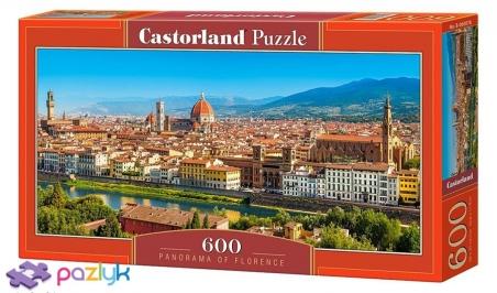 600 эл. - Панорама Флоренции / Castorland