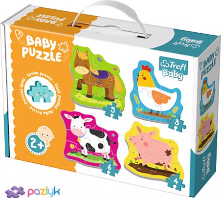 Baby CLASSIC - Тварини на фермі /Trefl
