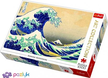 1000 эл. Art Collection - Кацусика Хокусай. Большая волна в Канагаве / Bridgeman / Trefl