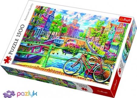 1500 ел.  - Амстердамський канал, Нідерланди / Trefl