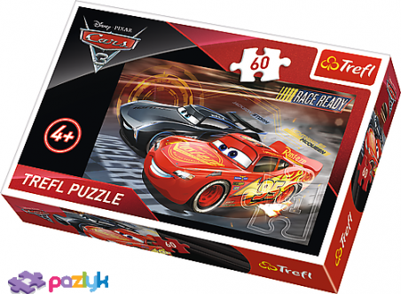 60 ел. – Тачки 3. Гонки / Disney Cars 3 / Trefl