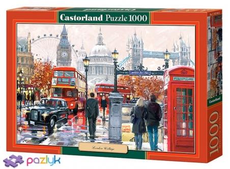 1000 ел. - Лондон. Колаж / Castorland