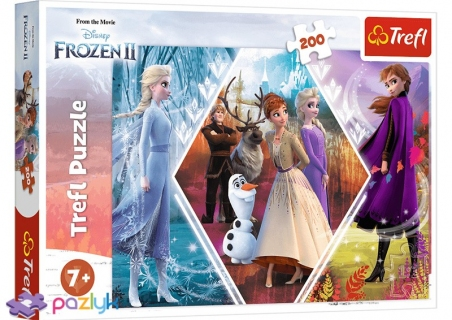 200 эл. - Холодное сердце-2. Сестры в ледяной стране / Disney Frozen 2 / Trefl