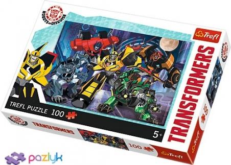 100 ел. - Трансформери. Команда Автоботів / Hasbro Transformers / Trefl