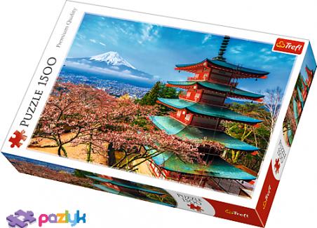 1500 эл. - Вид на гору Фудзияма, Япония / Trefl