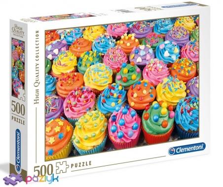 500 ел. High Quality Collection - Кольорові кекси / Clementoni