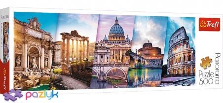 500 эл. Panorama - Путешествие в Италию / Trefl