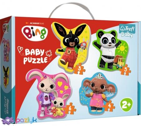 Baby CLASSIC- Кролик Бинг и друзья / Acamar Films Bing / Trefl