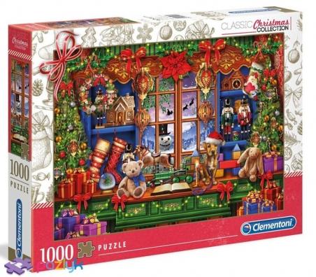 1000 ел. Christmas Collection - Старовинне Різдво / Clementoni