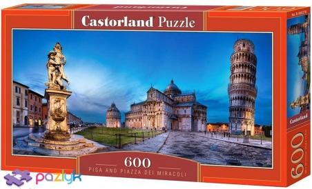 600 ел. - Піза, Італія / Castorland