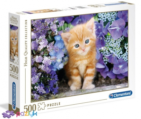 500 ел. High Quality Collection - Руде кошеня / Clementoni