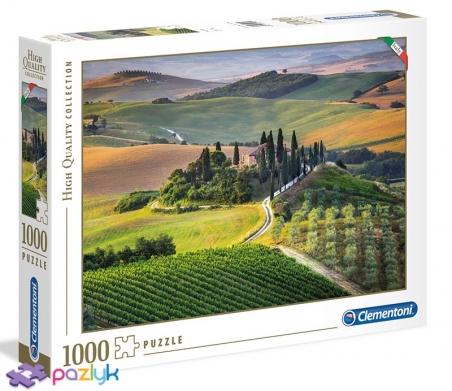1000 ел. High Quality Collection - Тоскана, Італія / Clementoni