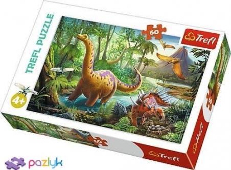 60 ел. - Мандрівки динозаврів / Trefl