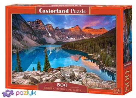 500 эл. - Рассвет над озером Морейн, Канада / Castorland