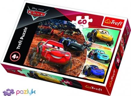 60 эл. - Молния Маккуин с друзьями / Disney Cars 3 / Trefl